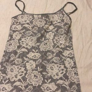 Flowery tank top/camisole